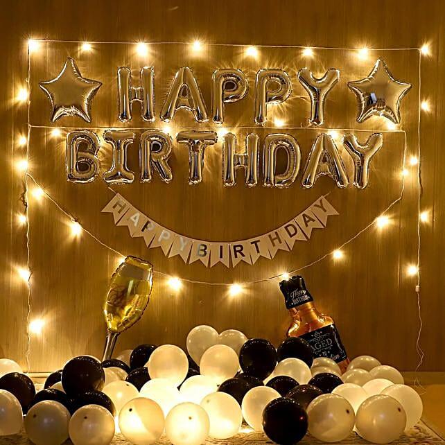 Exclusive Birthday Balloon Decoration Online:Room Decorations