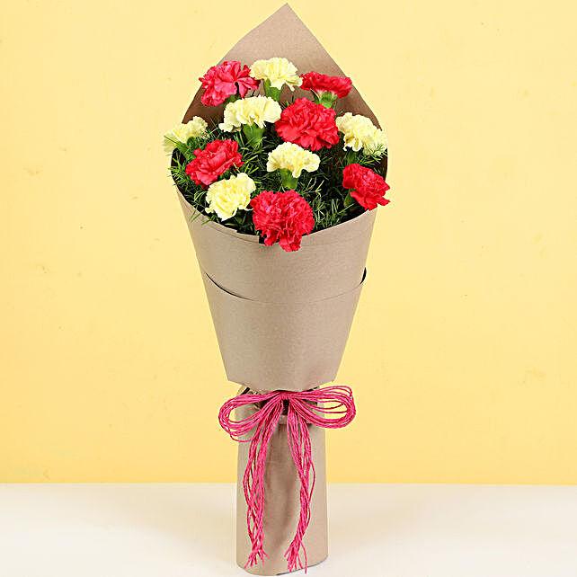 online carnation bouquet for girlfriend