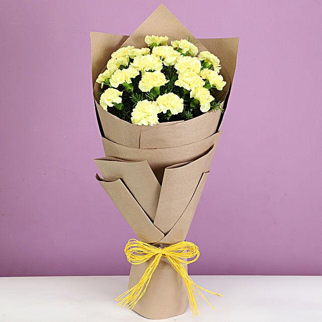 18 Sunrise Carnations Bouquet