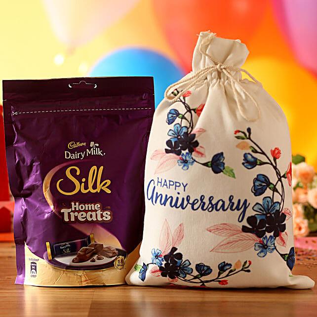 Anniversary Wishes Silk Treats