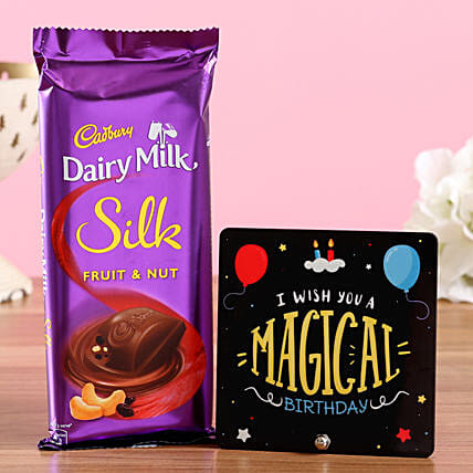 Chocolate Bar and Birthday Table Top Online