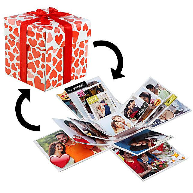 Online Celebrate Love Explosion Box