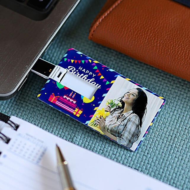 Online Photo Printed Pen Drive