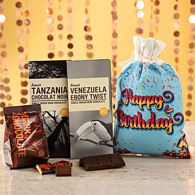 Birthday Special Amul Exotic Chocolates