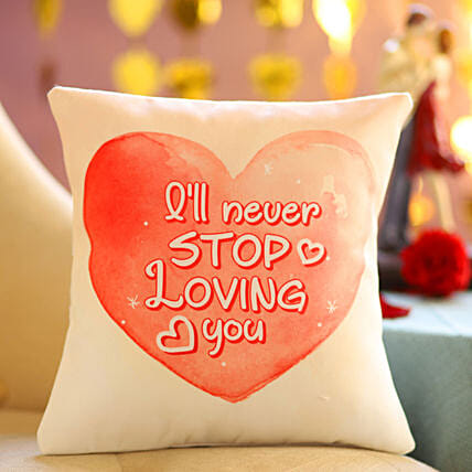 Online Printed Cushion for Love