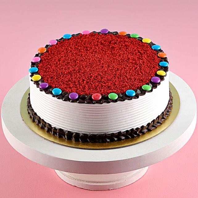 Online Red Velvet Gems Cake:Gems Cakes