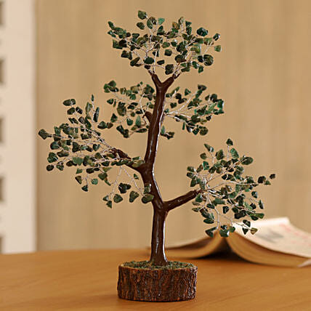 Green Gemstone wish tree
