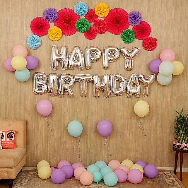 Birthday decoration surprise online