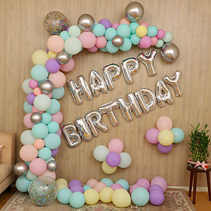 online happy birthday foil balloon decoration for home