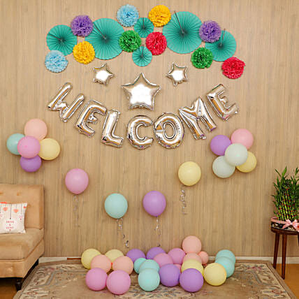 Surprise Welcome Party Decor