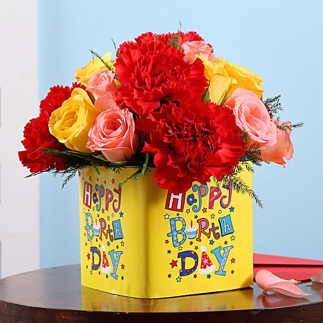 Floral Birthday Surprise