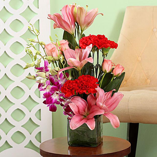 Online Graceful Mixed Flower Vase