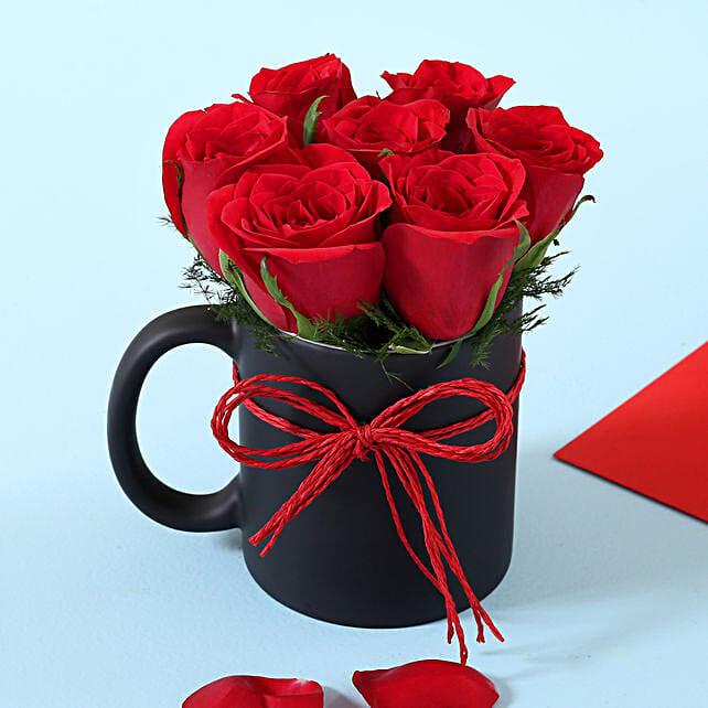 Online Roses Mini Mug