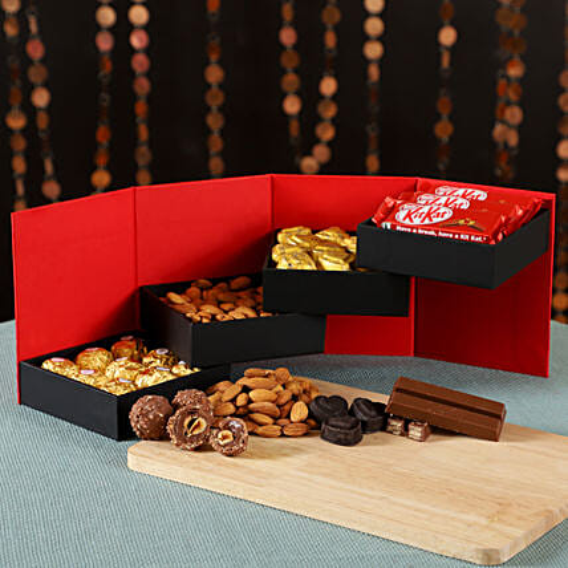 Delightful Chocolates Dry Fruits