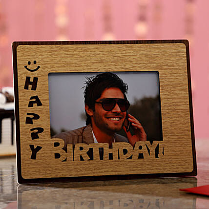 Birthday Wishes For Him Photo Frame:Send Gifts to Bargarh