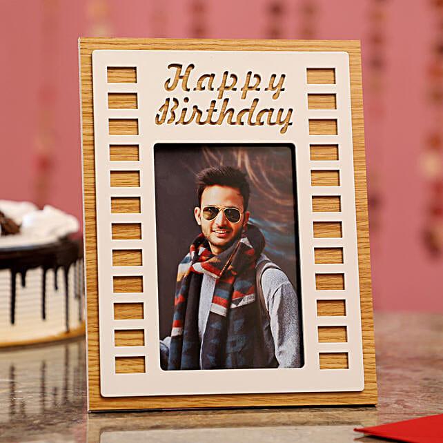Birthday Wishes Photo Frame
