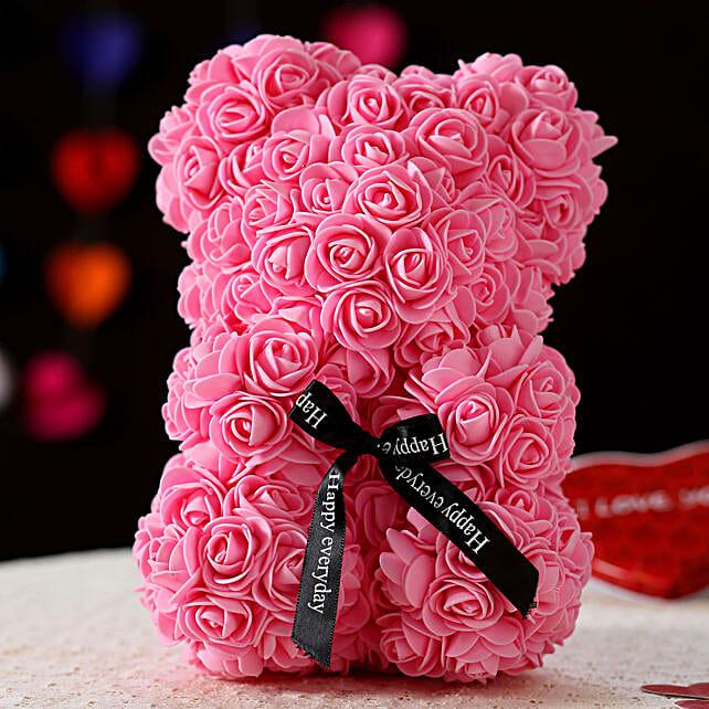 Foam Teddy Bear- Pink:Soft toys to Pune