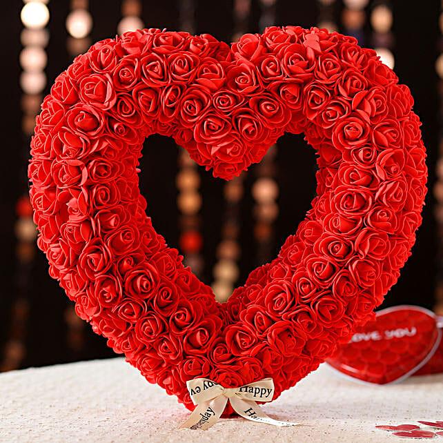 Heart Shaped Decor Item