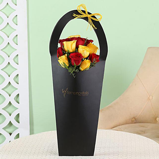 floral sleeve bag for boyfriend