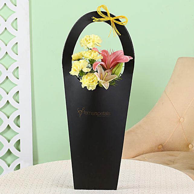 floral sleeve bag for her