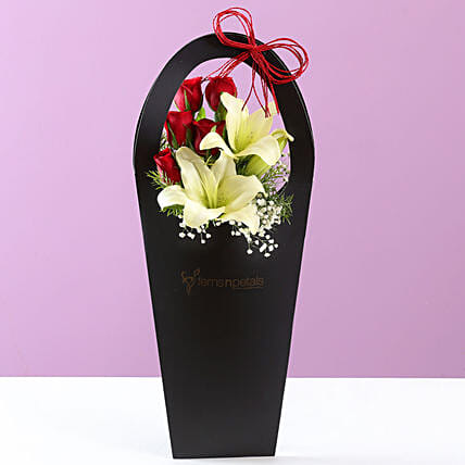 flower sleeve bag for boyfriend:Fathers Day Lilies