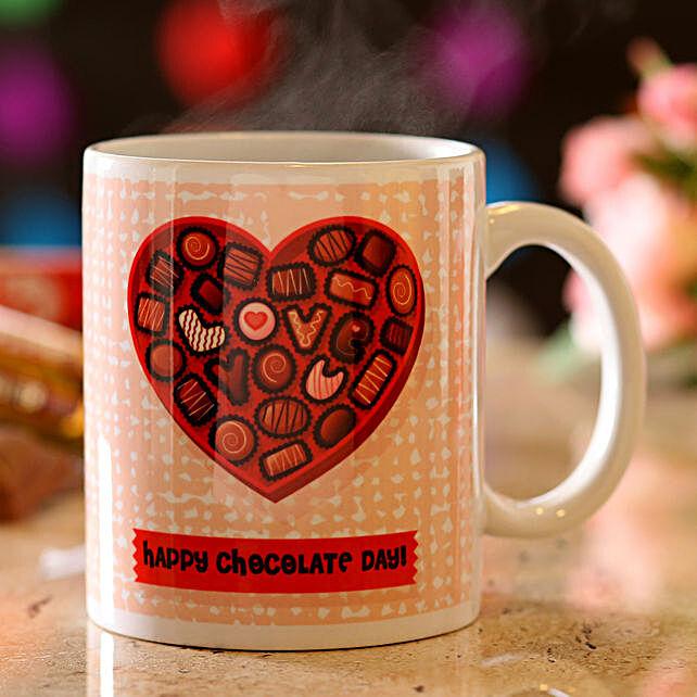 Online Chocolate Day Mug