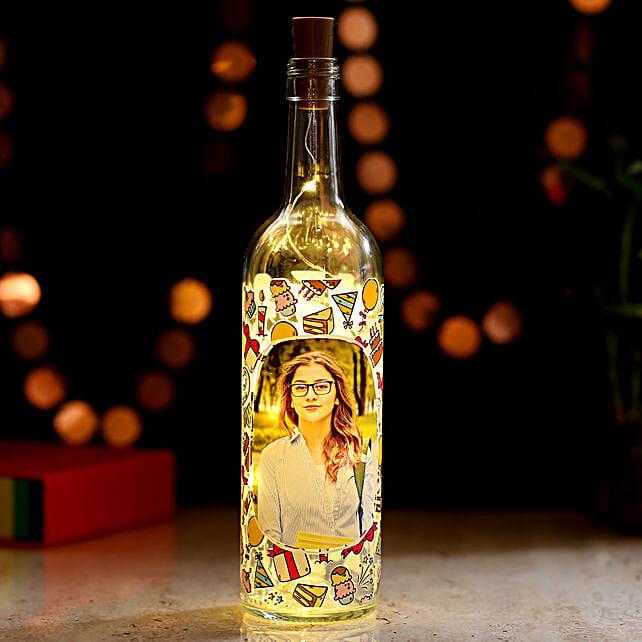 Online Picture LED Bottle Lamp