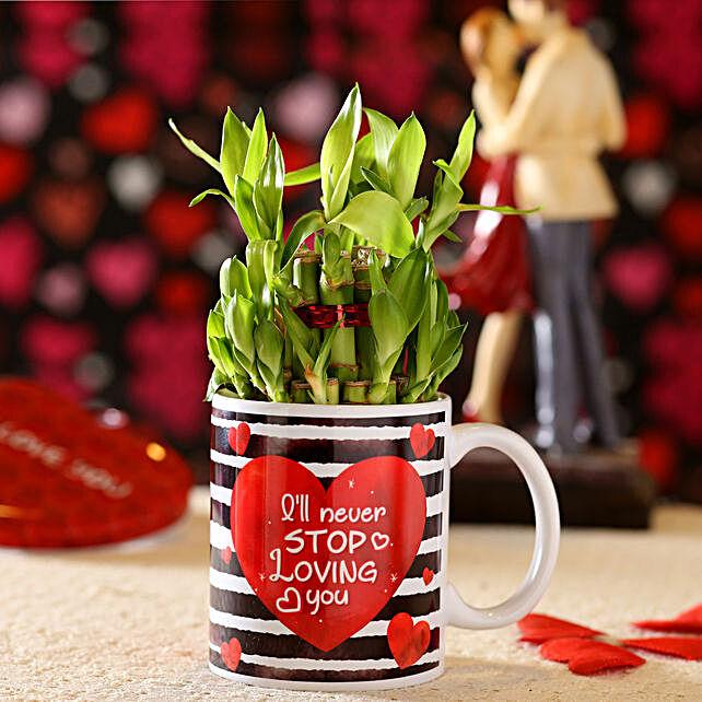 online bamboo in printed mug online:Mugs Planters