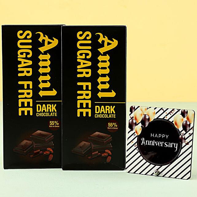 Online Sugar Free Anniversary Wishes:Sugar Free Chocolates