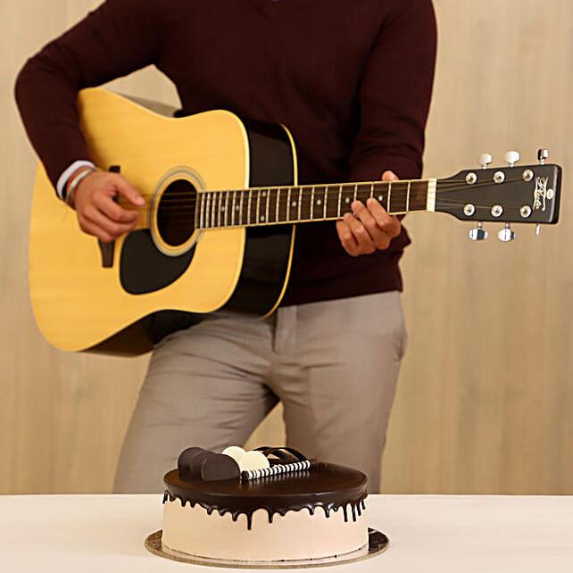 Chocolate Cake & Musical Combo 10 to 15 Min