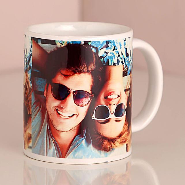 Attractive Personalised Black Mug:Customised Coffee Mug