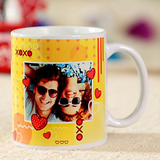 Forever In Love White Personalised Mug