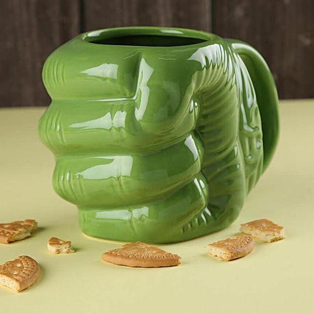 Sturdy Hulk Fist Coffee Mug
