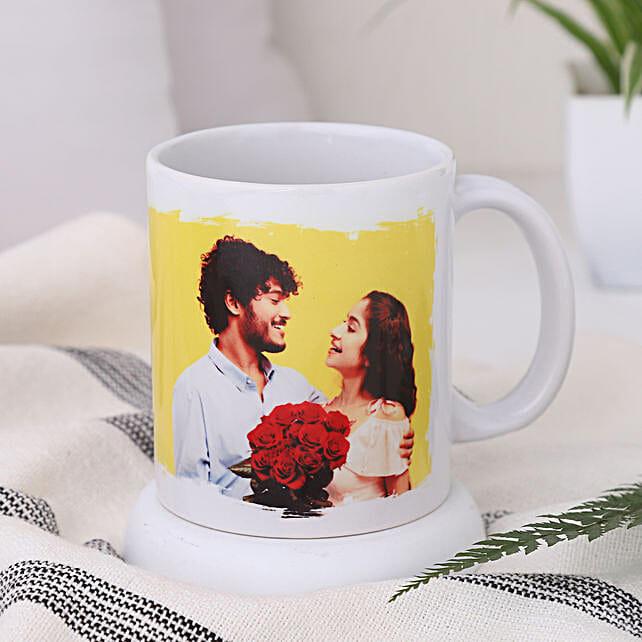 Personalised White Mug For Couples