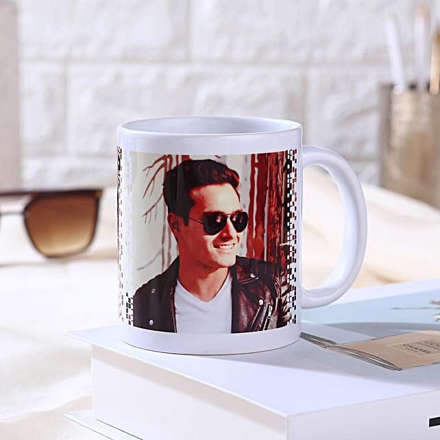 Personalised White Ceramic Mug