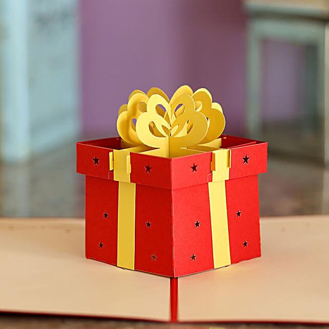 Online Gift Pop Up Card