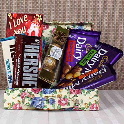 exclusive chocolate combo online for her