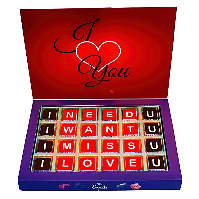 Love You Chocolate Box Online