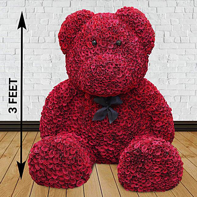 2000 Red Roses Grand Teddy Bear