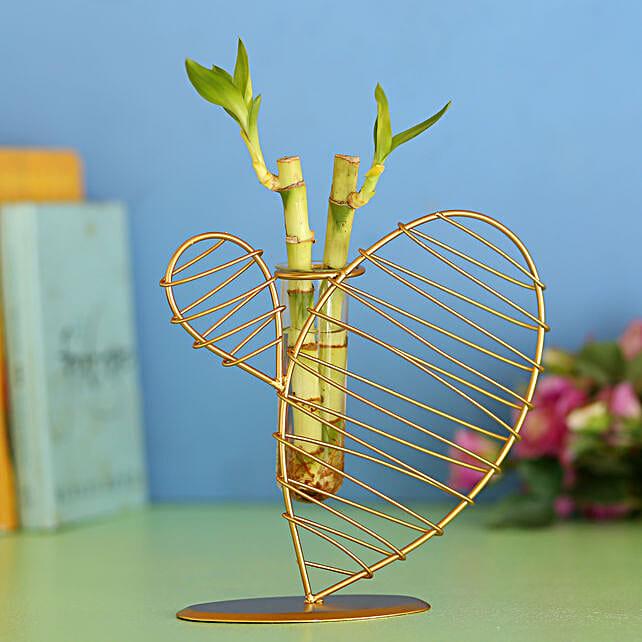 Two Bamboo Sticks In Elegant Frame