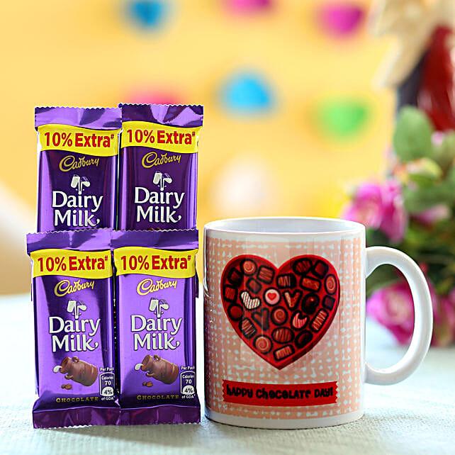 Chocolate Day Special Mug Combo