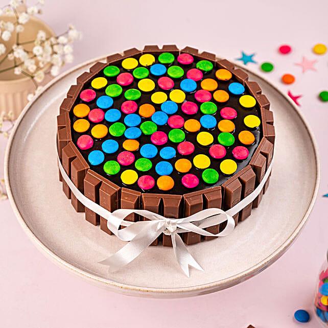 Kit Kat Cake Half Kg