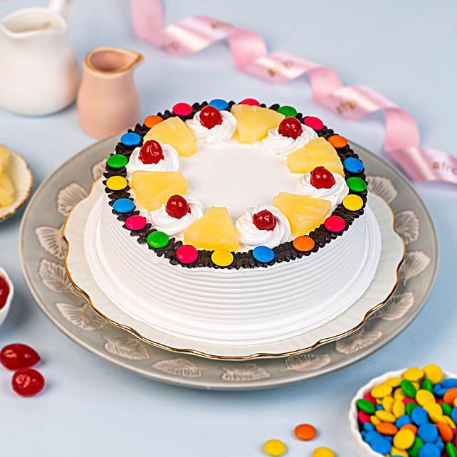 Fresh Pineapple Cake Online:Gems Cakes