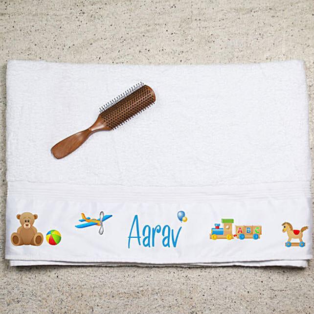 Personalised Bath Towel:Personalised Towels