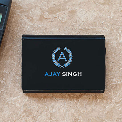 Professional Personalised Business Card Case