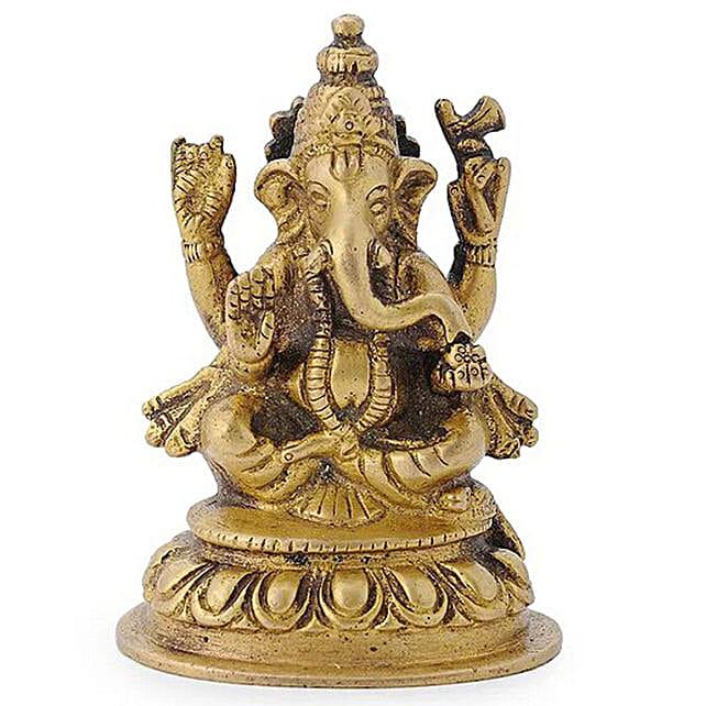 Brass Ganesha Online