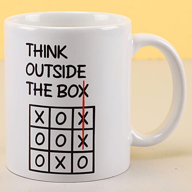 Think Outside The Box Mug:Mug
