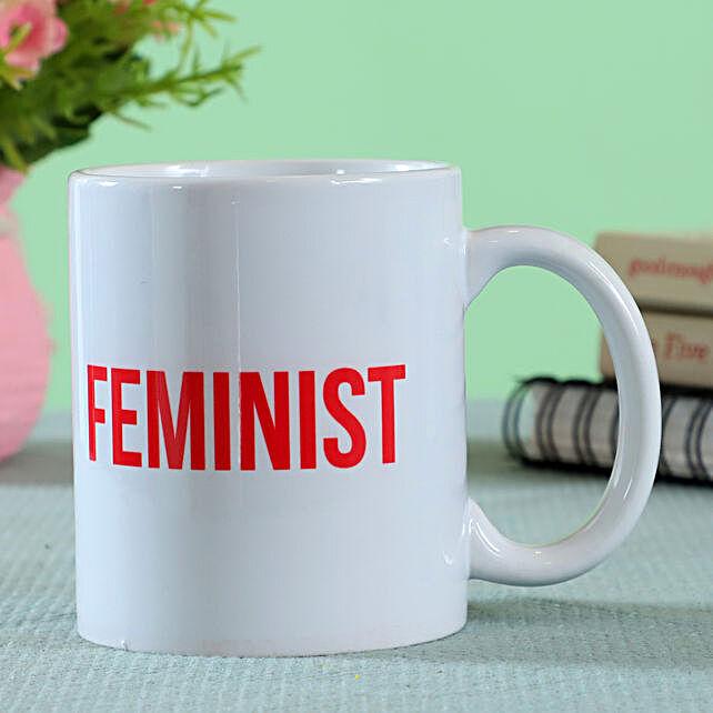 Feminist Printed Mug