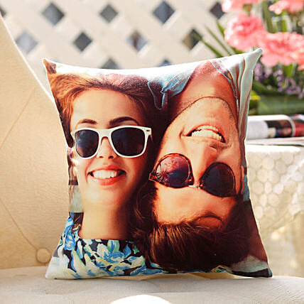 Couple Personalised Picture Cushion