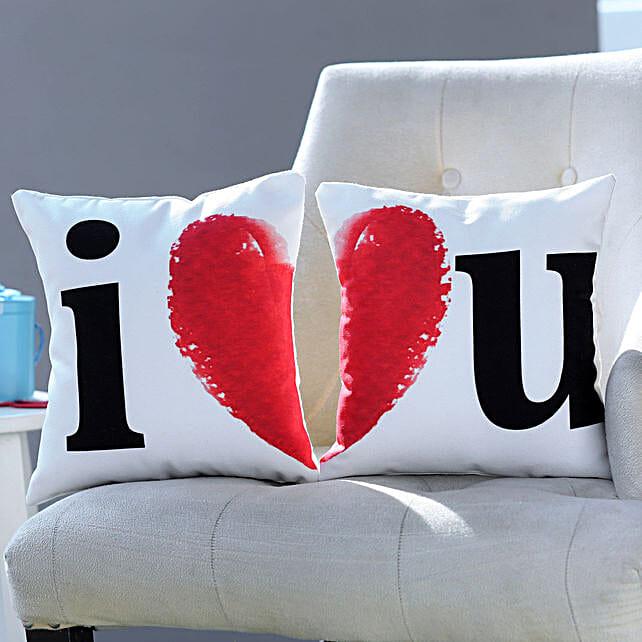 I Love You Cushion Duo